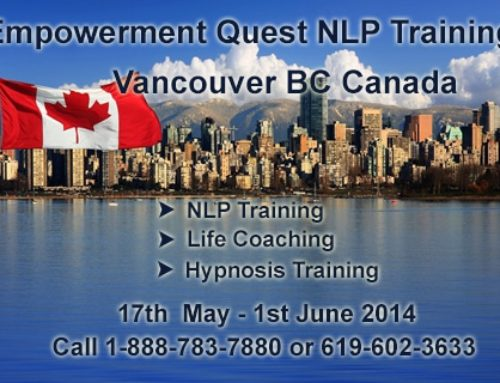 Press Release: Empowerment Quest International NLP Training Is Coming To Vancouver, BC, Canada